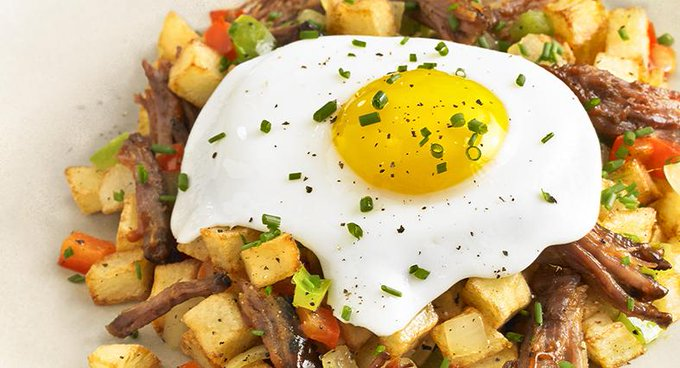 Potato and Short Rib Hash