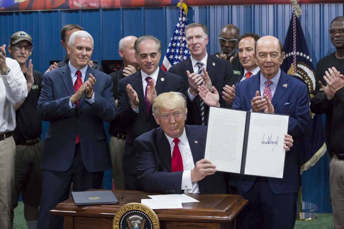 Here's the Full List of Donald Trump's Executive Orders