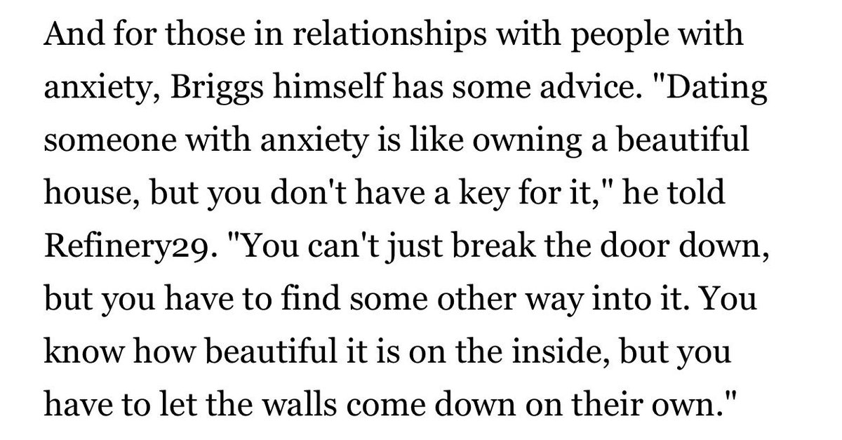 Guide to dating someone with anxiety