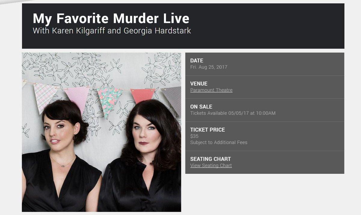 OMIGOSH #murderinos! Karen and Georgia from @MyFavMurder are coming to Denver for the @HighPlainsCF! #SSDGM