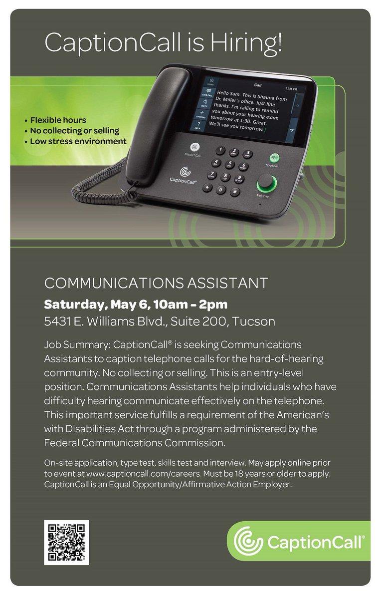 Caption Call Customer Service 2