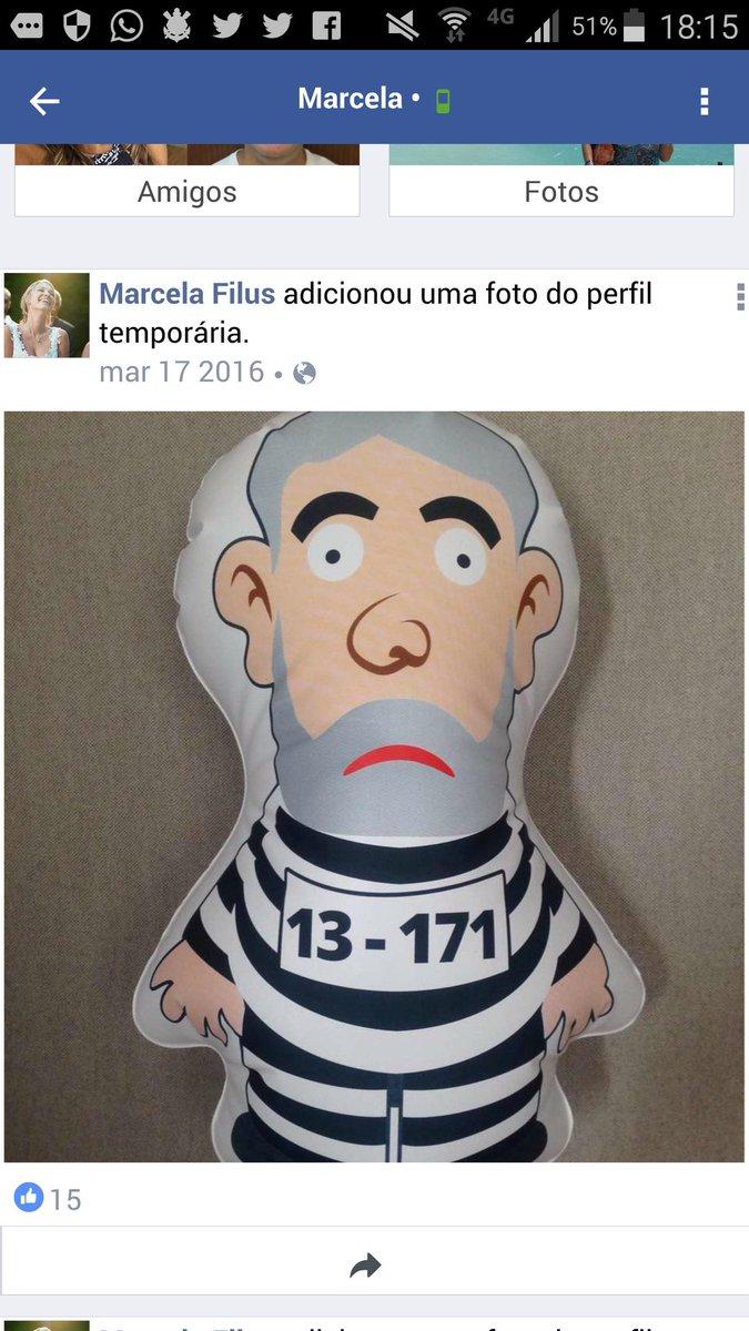 Custo a crer que Marcela Filus, juíza que mantém 3 manifestantes presos em nome da 'ordem pública' seja a mesma q publica isso no face
