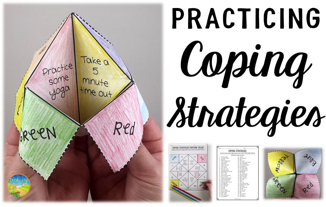coping strategies fortune teller pdf