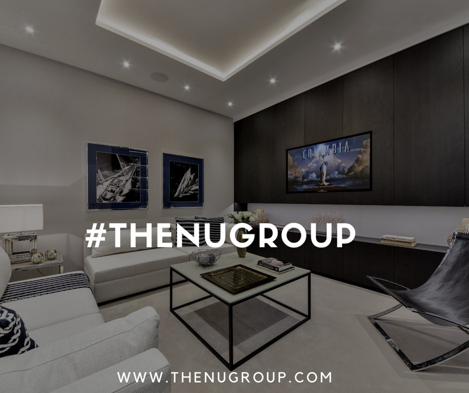 The Nugroup On Twitter Perfect Staying In Bank Holiday Spot Ultimate Home Cinema Interiors Architecture Design Basements