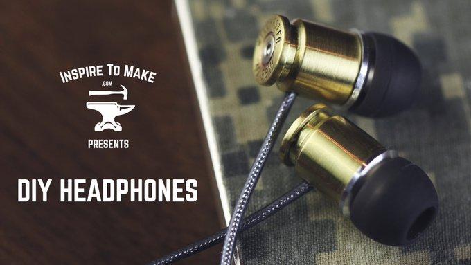 DIY Bullet Headphones