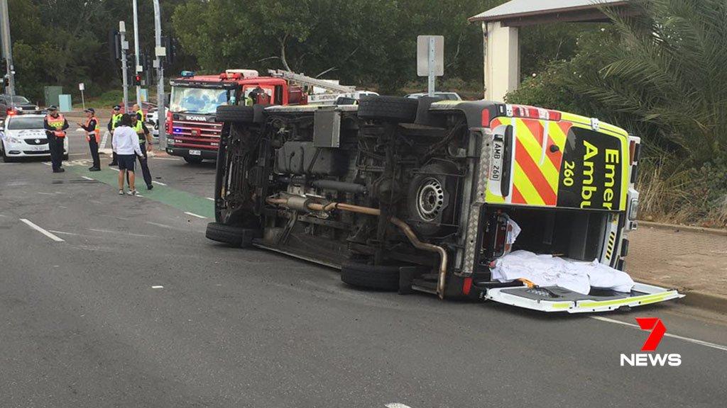 7news Adelaide On Twitter Ambulance Vs Car Crash On Sturt Road