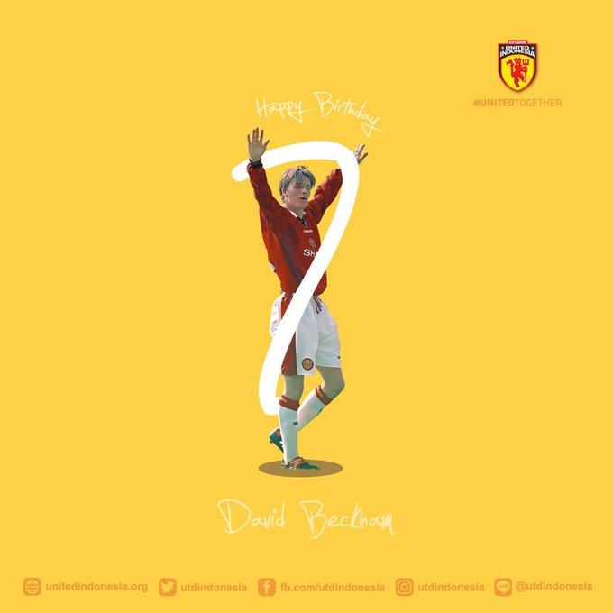 Happy birthday happy birthday David Beckham!