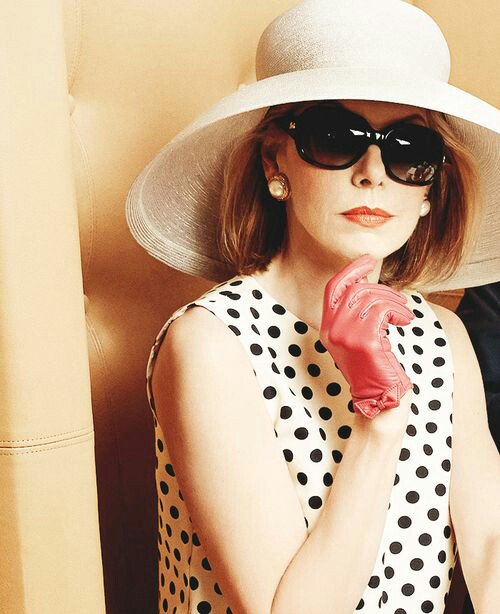 Happy birthday pretty queen Christine Baranski