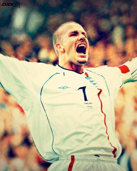 Happy Birthday to David Beckham Icon.