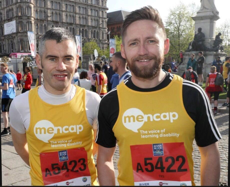 test Twitter Media - Big well done to all 5 #TES relay teams running for @Mencap_NI yesterday at the #BelfastMarathon  For more info, see https://t.co/x8T2bplX2X https://t.co/DN4ocsZfD1
