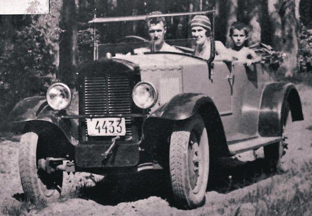 первый автомобиль нами фото
