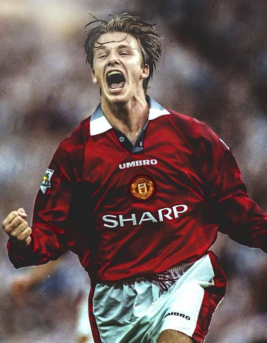 Once a red always a red..Happy birthday  DAVID BECKHAM