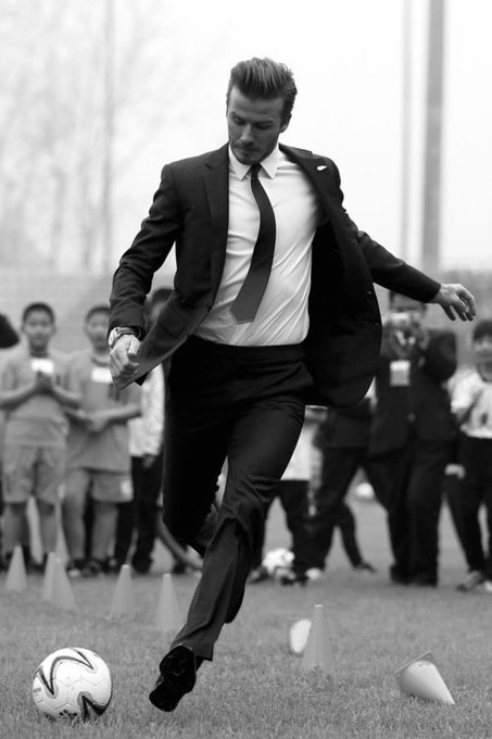 Happy Birthday to my idol, David Beckham.
