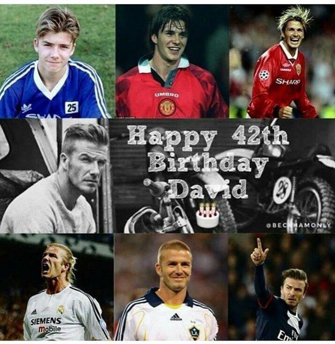 Happy Birthday Real Madrid Legend David Beckham. Wish All the best!!!