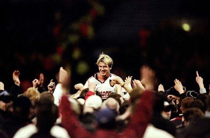 Happy birthday David Beckham.