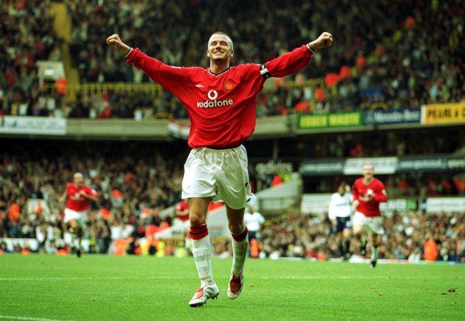 Happy  birthday David Beckham.   My favorite player