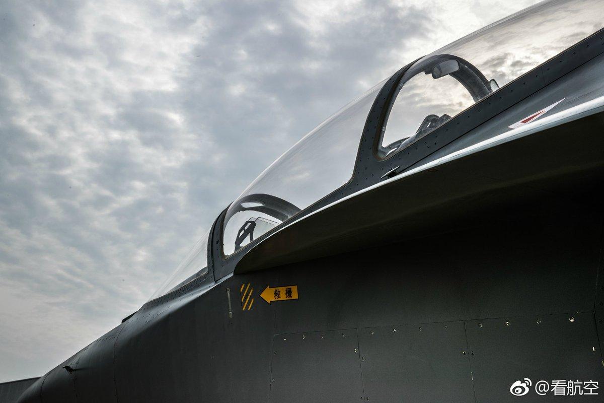 الصين تكشف النقاب عن طائرتها الهجومية الجديدة من طراز L-15B C-zbNAGXgAAiIAa