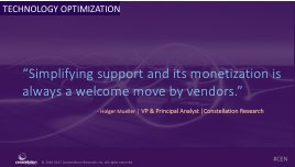 """""""Simplifying support & its monetization - always a welcome move by vendors."""" - @holgermu https://t.co/LKdnVNUtfD #CEN https://t.co/wjpvtEXiUM"""