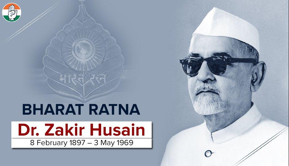 Image result for dr zakir hussain president