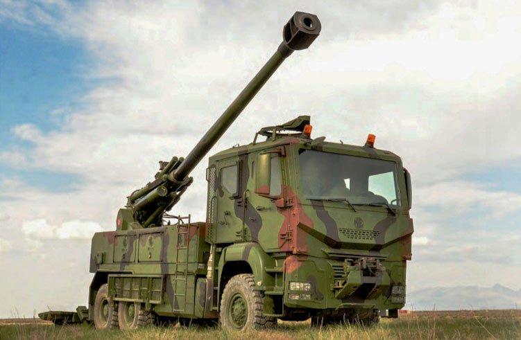 تركيا تكشف عن النظام المدفعي التركي  MKE Yavuz C-zoFfvXUAAjrXm