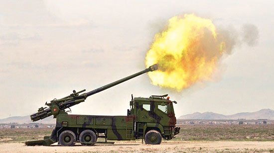 تركيا تكشف عن النظام المدفعي التركي  MKE Yavuz C-zoGb-WAAAaJ1h