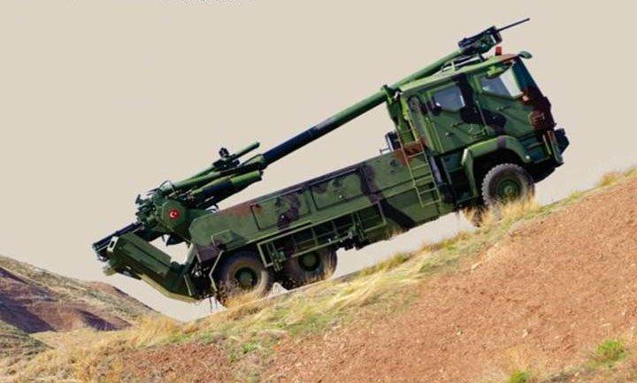 تركيا تكشف عن النظام المدفعي التركي  MKE Yavuz C-zoHKtXUAA1rj1