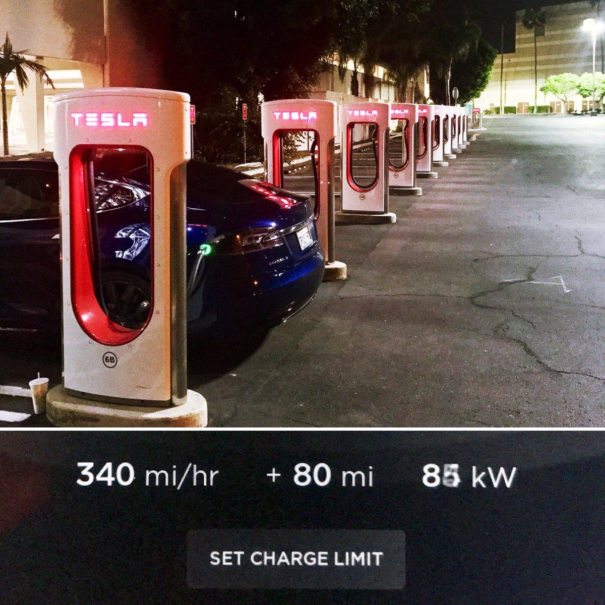 Tesla hookup