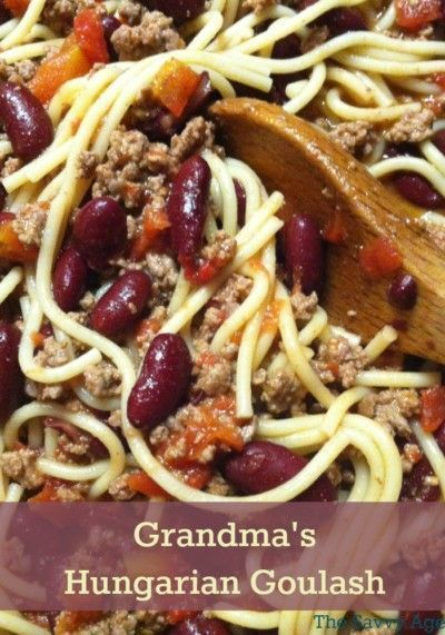 Grandma's Hungarian Goulash Recipe