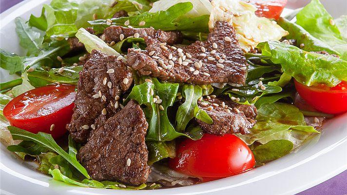 Рецепты салатов из печени куриной