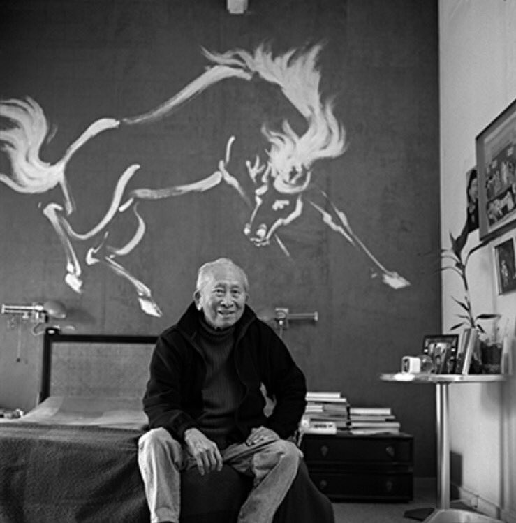 """Bambi"" artist and #Disney Legend Tyrus Wong, 1910-2016. https://t.co/2nJyHvV9gV"