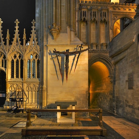 Archbishop Thomas Becket was murdered on this day in 1170 https://t.co/XGAvd8Fyzz