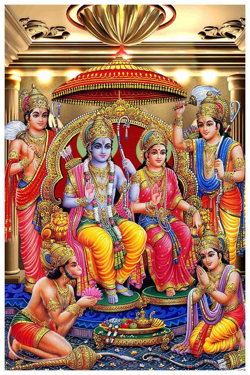 Must see Wallpaper Lord Ram Darbar - C00QsiAXgAEetpx  Gallery_707989.jpg