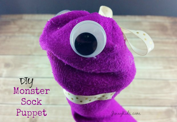 Monster Sock Puppet Craft