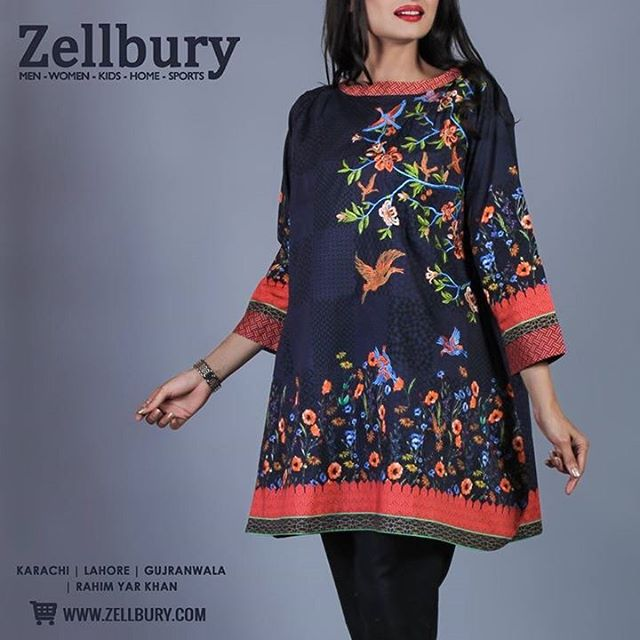 Zellbury On Twitter This Cambric Is An Embroidered Single Piece Design From Our Winter 16 Unstitched Collection Available In Stores Now Zellbury Https T Co Ykbe9rhj3c