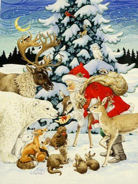 Открытки с животными новому году, открыток новый год