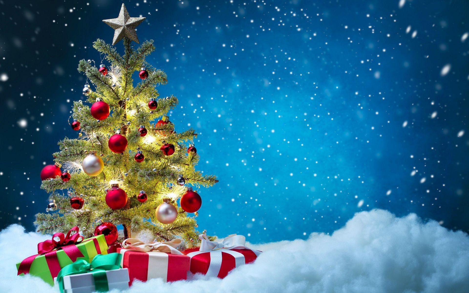 Поздравление, новогодние открытки и елочка