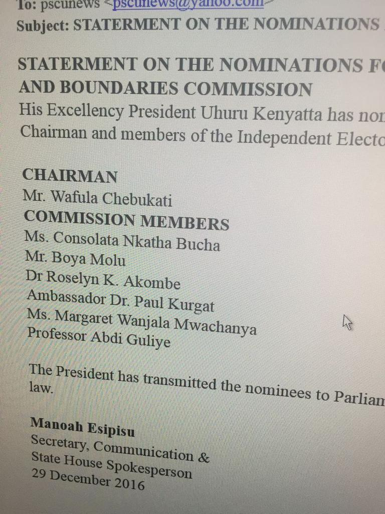 Norman Magaya On Twitter As I Indicated Yesterday Appointment Of