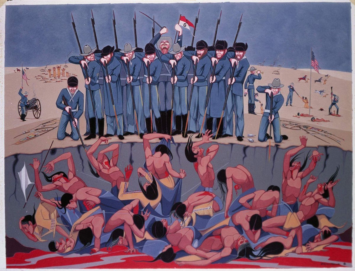 thesis paper on the battle at wounded knee The battle at wounded knee essay the battle at wounded knee  the massacre at type of paper: thesis/dissertation chapter.