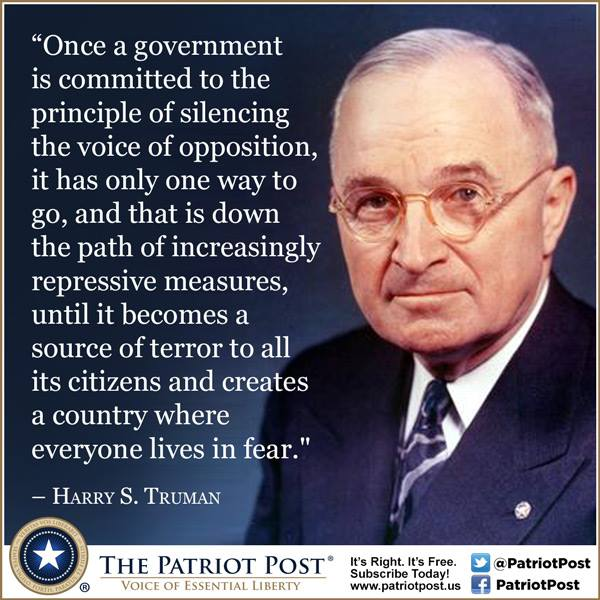 Harry S Truman Quotes: LibertyPatriot (@libertypatriot)