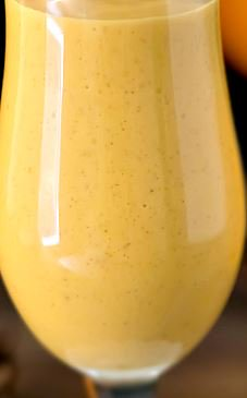 Pumpkin Yogurt Smoothie