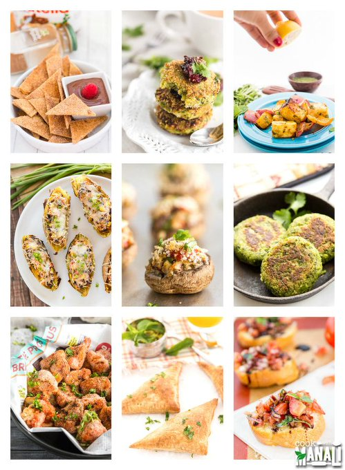14 Vegetarian Appetizers for New Year's Eve