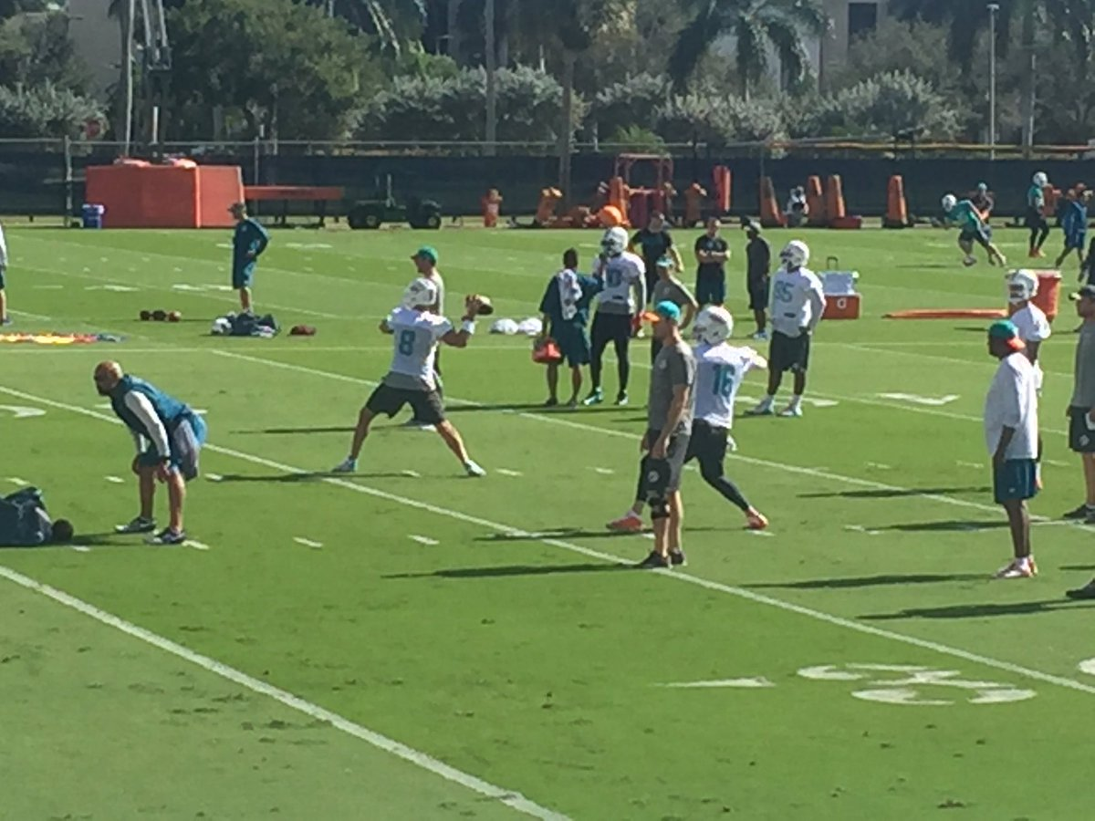 Tannehill at practice today throwing finheaven miami - Finheaven com ...