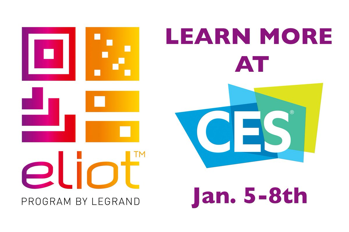 Legrand On Twitter Our Eliot Program Enhances Building 43900 Connectivity Human Centric Lighting See How At Ces2017 Booth 40924 And