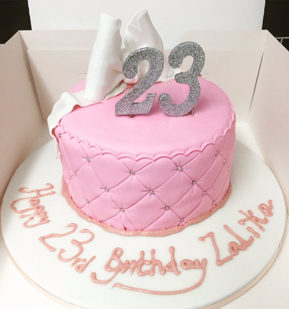 Keisha cake on twitter cakes i baked 23rd birthday cake pretty keisha cake on twitter cakes i baked 23rd birthday cake pretty bow cake 23 today birthday instagram caketoday thecheapjerseys Images
