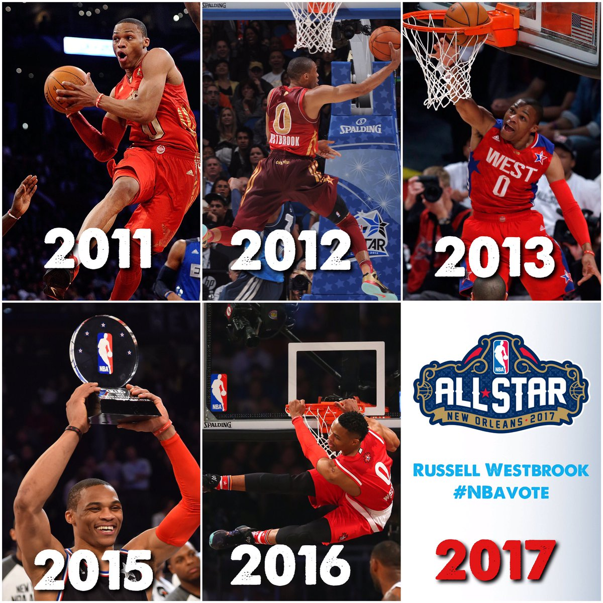 OKC THUNDER On Twitter TBT Hes Been There 5 Times MVP Twice Send Russell Westbrook Back To NBA All RT Counts As NBAVOTE