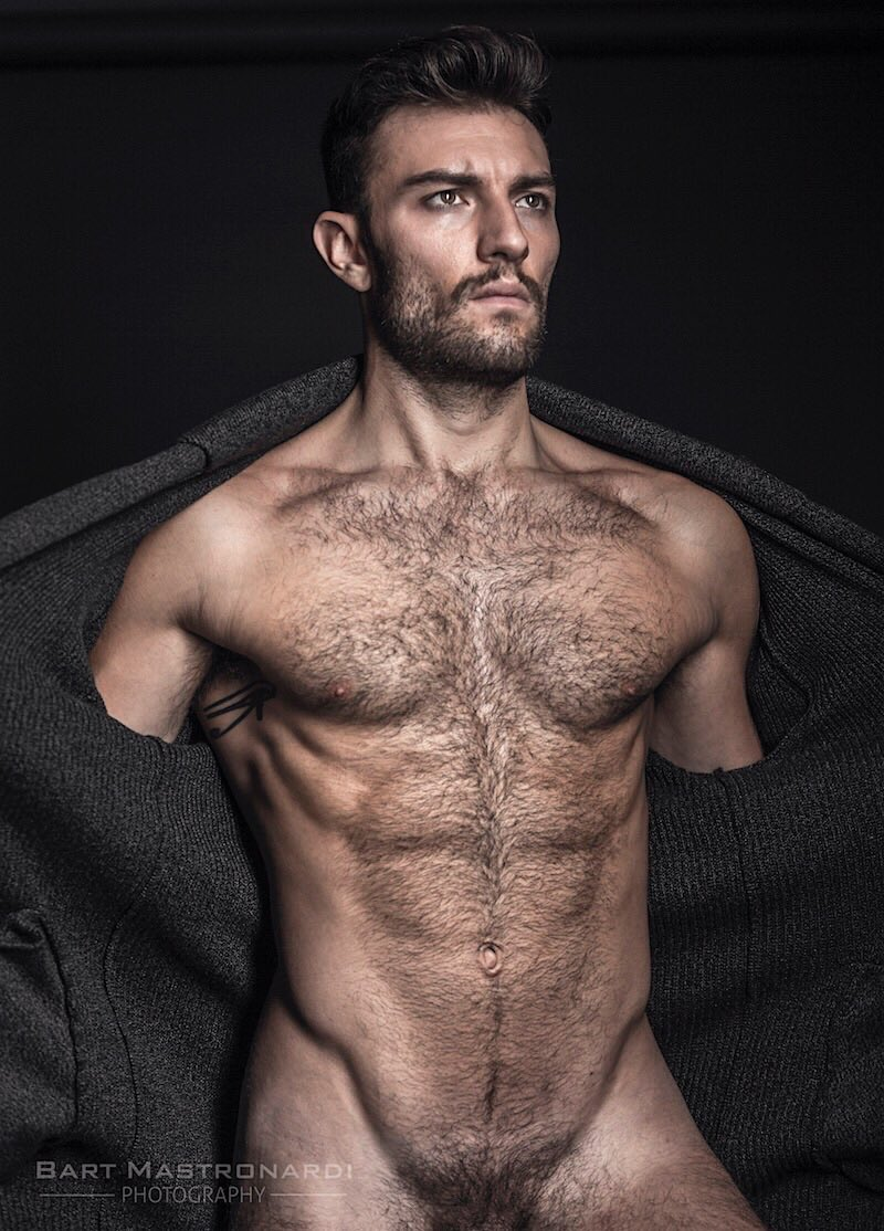 Naked male model pic hairy situation familiar