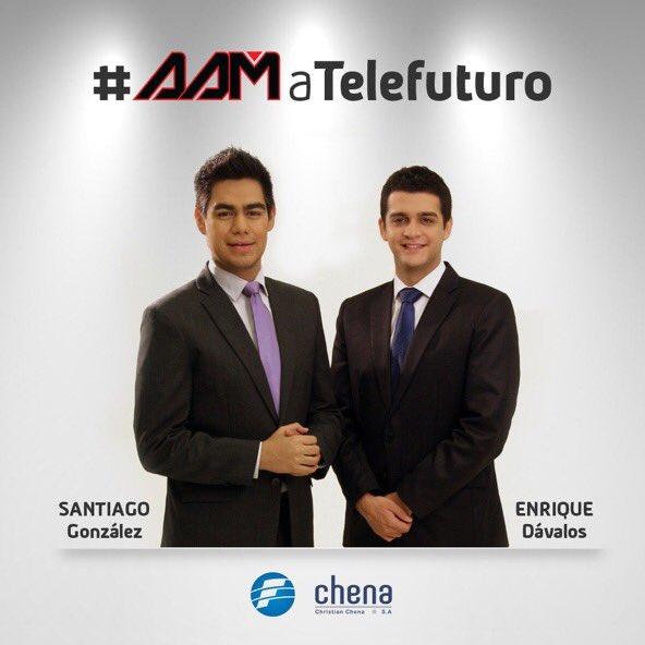 Es oficial. Desde 2017 hacemos #AAM en Telefuturo. Salud! https://t.co/CgcIeRbtuB