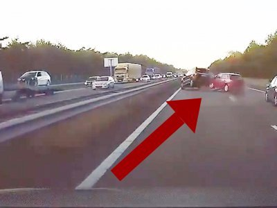 This Tesla avoided this accident before it even happened