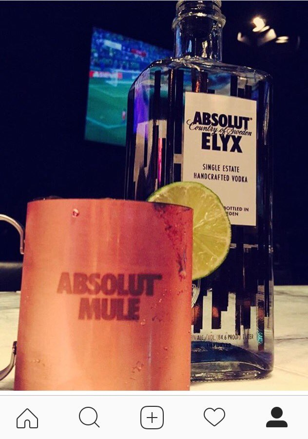 Come get this classic #moscowmule. We thank @absolutelyx for helping create this delicious cocktail! https://t.co/k7kltviFPE