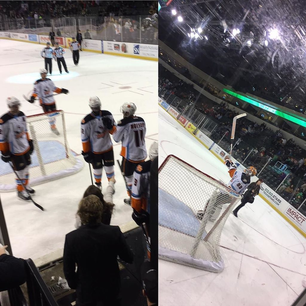 Shutout in Texas! Great 4-0 Win by @sdgullsahl #sdgulls https://t.co/aHAtZosJJE https://t.co/pFN7aPWwUR
